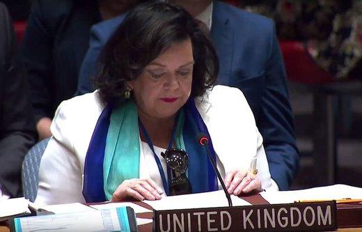 حمایت نماینده انگلیس در سازمان ملل از برجام/ تلاش میکنیم ایران از منافع برجام بهرهمند شود