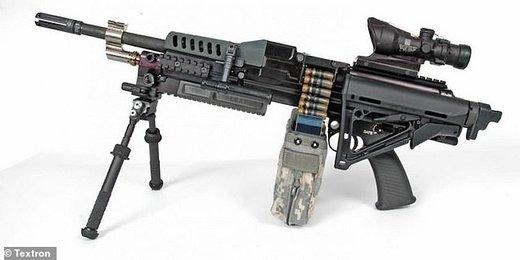 رونمایی از اسلحهای به قدرت تانک در ارتش آمریکا/عکس