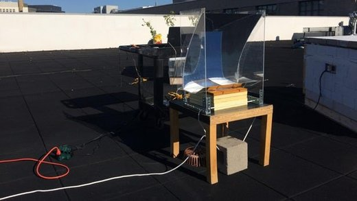 دستگاهی که بخاری فوق داغ تولید میکند