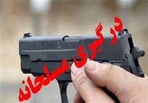 درگیری مسلحانه پلیس با سارقان در اهواز/ یک سارق کشته شد