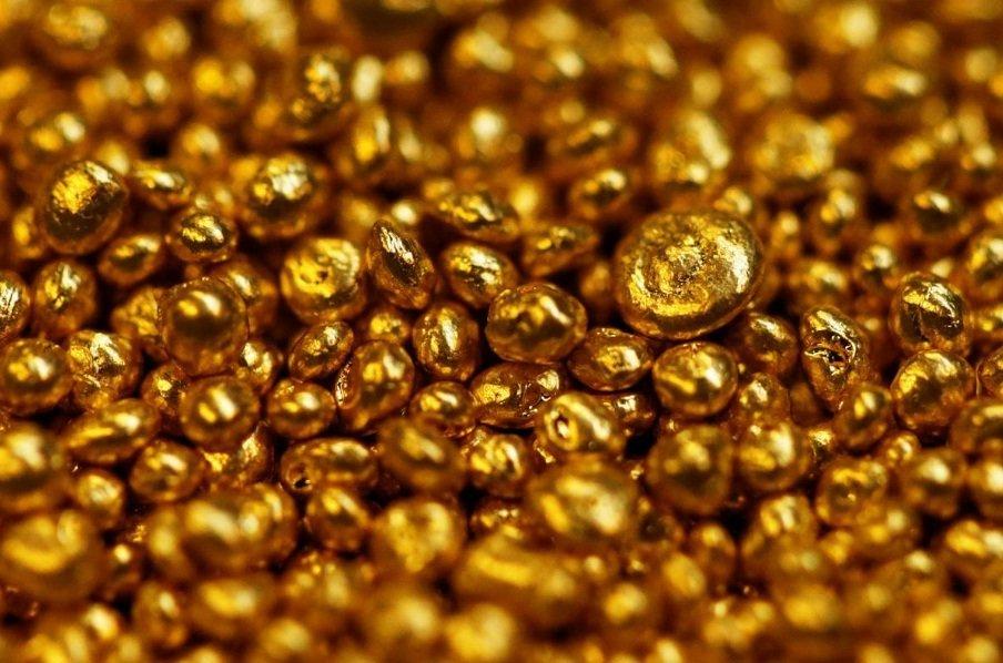 طلای اب شده