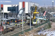 فیلم | واژگونی مرگبار قطار سریعالسیر در ترکیه