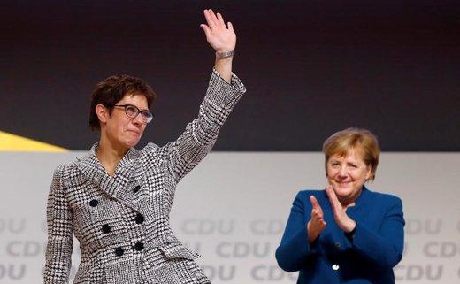 آنهگرت کرامپ-کارن باوئر، رهبر اتحادیه دموکرات مسیحی آلمان، پس از آنگلا مرکل شد