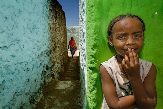 پیاده روی در شهر تاریخی هرر اتیوپی