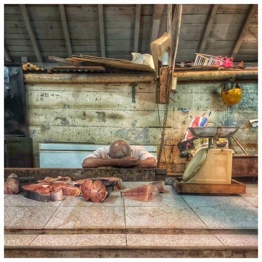 بازار ماهی پورت لوئیس موریس