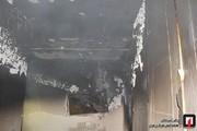 تصاویر | آتشسوزی برج ۱۱ طبقه در غرب تهران