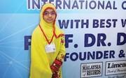 فیلم | دختر ١١ ساله چابهاری که برای سومین بار نفر اول محاسبات ذهنی جهان شد