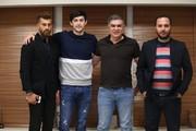 رنگ موی جدید رامین رضاییان سوژه تمرین تیم ملی/عکس