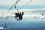 تصاویر | هیجان در بزرگترین پیست اسکی ایران