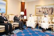 Iran's FM meets Qatari PM