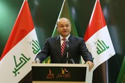Iraqi president hails Iran's support during wartime days