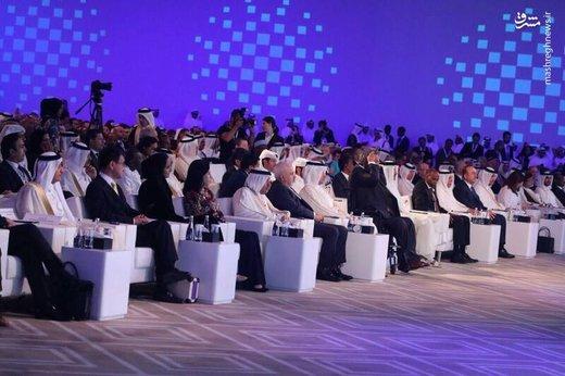 اظهارات ظریف در کشور عربی خلیج فارس
