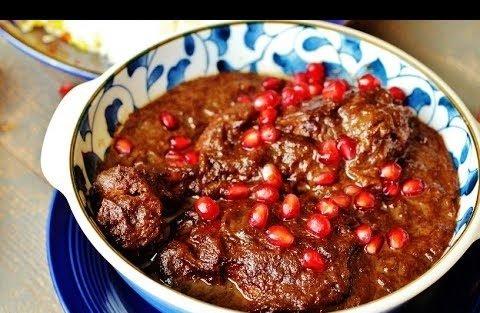 غذا های مخصوص شب یلدا