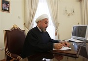 President Rouhani facilitates Kazakhstan on Independence Day