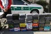 دستگیری سارقی با ۳۰۰ باطری مسروقه خودرو