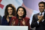اولین رئیسجمهوری زن در گرجستان سوگند یاد کرد