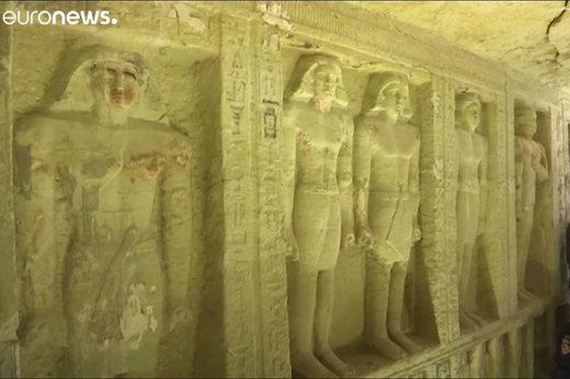 فیلم   کشف مقبره ۴۴۰۰ ساله در مصر