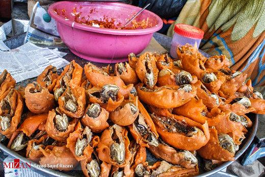 بازار غذاهای سنتی در کشمیر