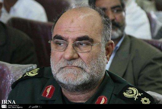 فرمانده قرارگاه منطقهای سپاه در شمال شرق کشور درگذشت