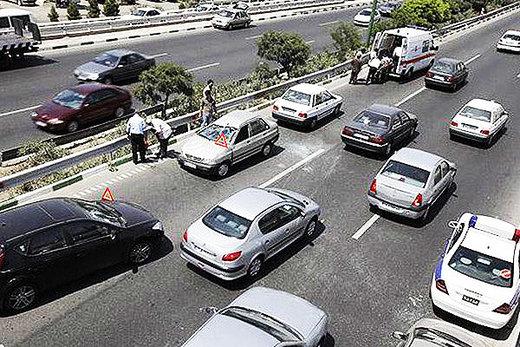 تصادفات جاده ای اصفهان ۱۸ درصد افزایش یافته است