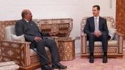 تصاویر| یک ملاقات غیرمنتظره در دمشق