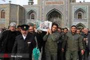 تصاویر | تشییع پیکر سردار منصوری در مشهدمقدس