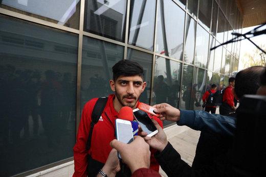 پرسپولیسیهای تیم ملی در آغوش هم/ عکس