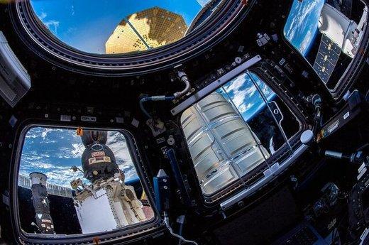 پارکینگ ایستگاه فضایی پر شد