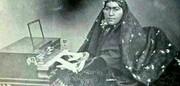 عکس   اولین زن ایرانی که نواختن پیانو را آموخت