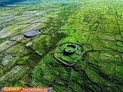 تصاویر | سرزمین زمردین موقرمزها