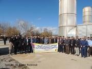 بازدید مهندسین شرکت برق لرستان از نیروگاه گازی دورود