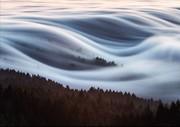 عکس | مه صبحگاهی کوههای تامالپایس در عکس روز نشنال جئوگرافیک