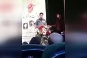 فیلم | سخنان جنجالی یک دانشجو در حضور ضرغامی