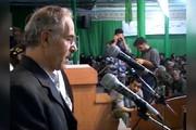 فیلم | لحظه فوت ناگهانی سرتیپ فناخسرو در حین سخنرانی!