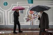 تصاویر   بارش باران پاییزی در تهران