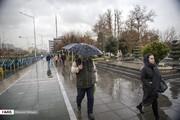 بارش باران در اصفهان ادامه خواهد داشت
