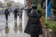 تصاویر | جلوه تهران در یک روز پربارش پاییزی