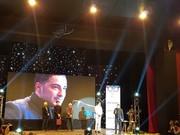 فیلم | صحبتهای نوید محمدزاده پس از دریافت جایزه در جشن منتقدان