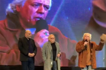 فیلم | کنایه های سیروس الوند به فیلم مجیدی در جشن منتقدان