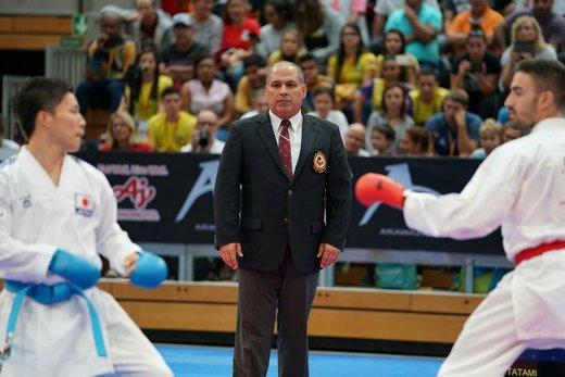 داور بینالمللی ارومیهای یکی از ۱۳ داور حاضر در کاراته المپیک ساحلی آمریکا
