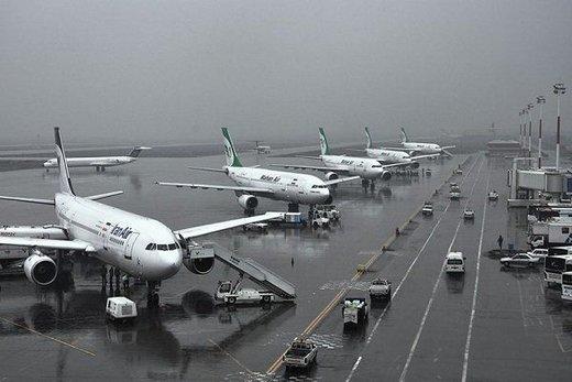 پروازهای فرودگاه مشهد تا اطلاع ثانوی انجام نمیشود