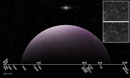 فاروت؛ دورترین شیء آسمانی کشفشده در منظومه شمسی