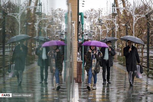 تداوم سرما در کشور/تهران بارانی میماند