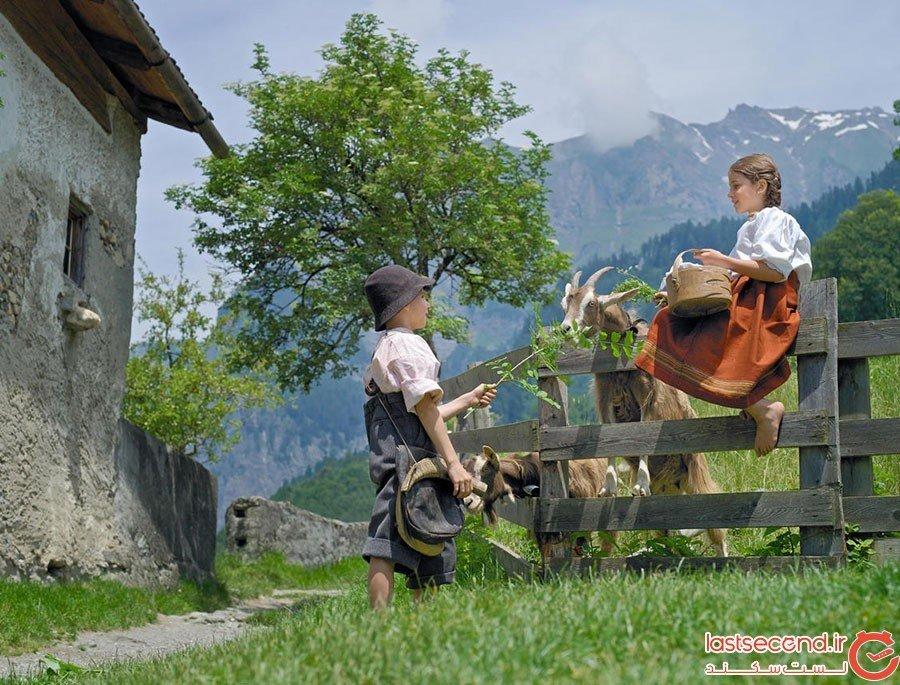 دهکده هایدی در سوئیس