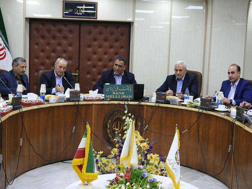 حبیبالله غالب مدیر امور شعب بانک ملی آذربایجانغربی