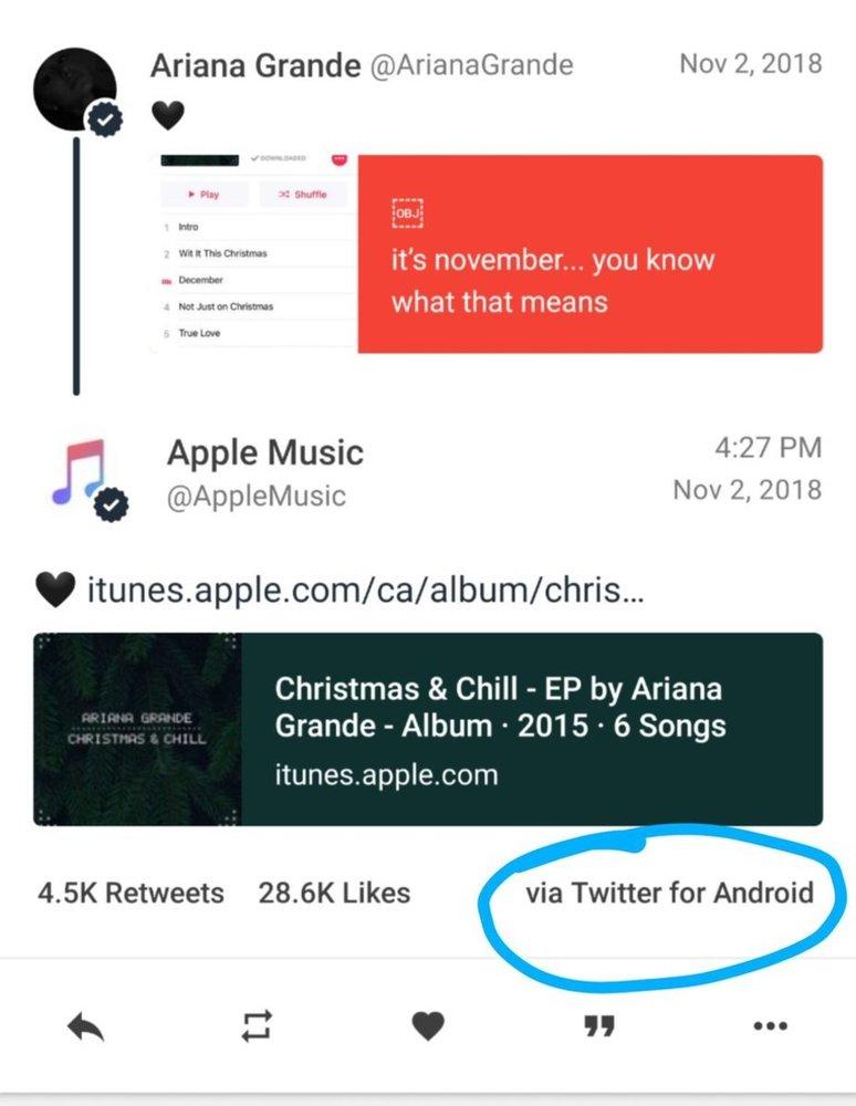 استفاده مدیران اپل از گوشی اندرویدی برای توسعه سرویس موسیقی