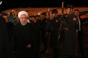Iran president arrives in Turkey