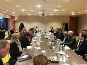 دیدار معاون ظریف با مقامات سوئدی