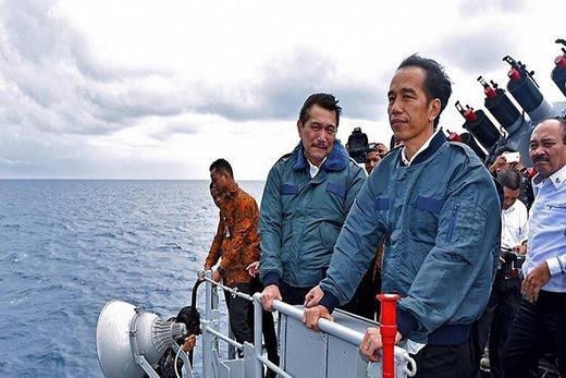 اندونزی در دریای جنوبی چین پایگاه نظامی دایر کرد
