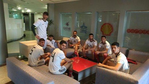 گزارش تمرین تیم ملی در قطر/ قلیزاده به جمع ملیپوشان اضافه شد